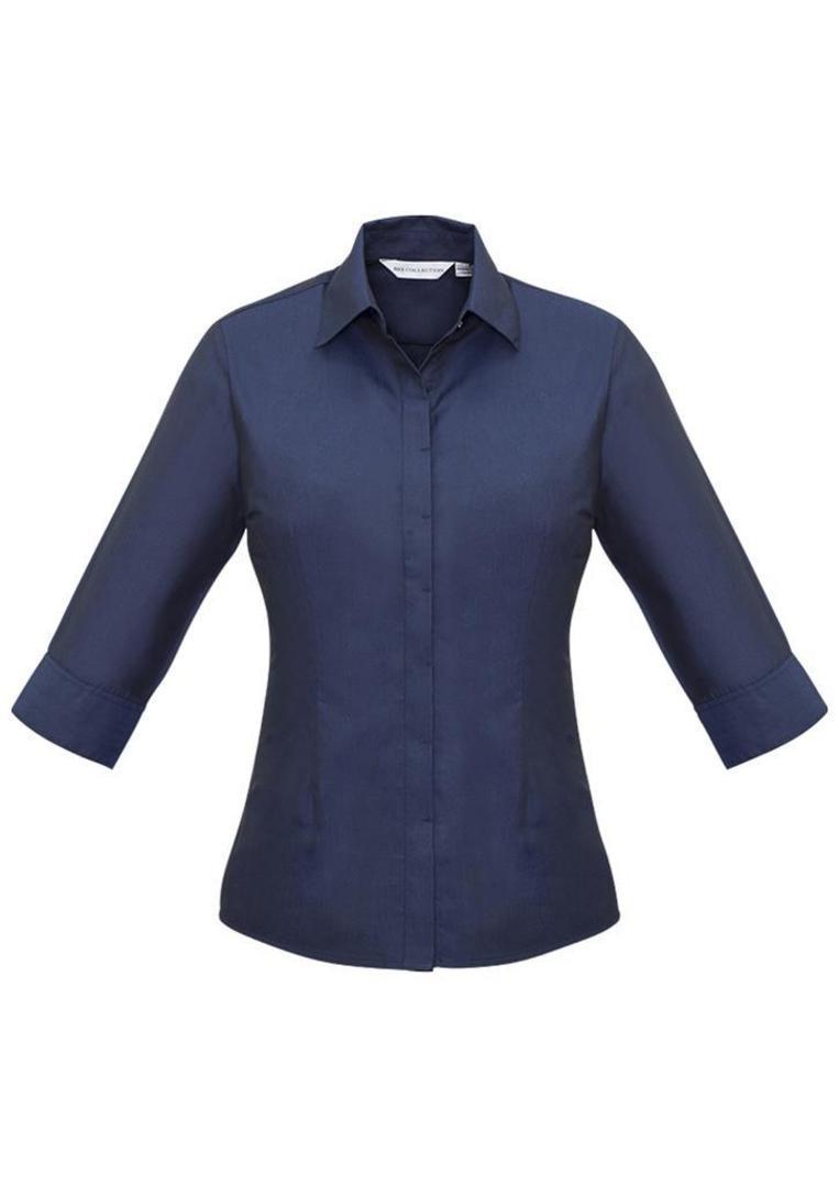 Ladies Hemingway 3/4 Sleeve Shirt image 1