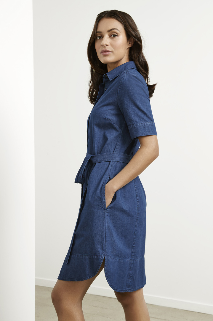 Delta Denim Dress image 1