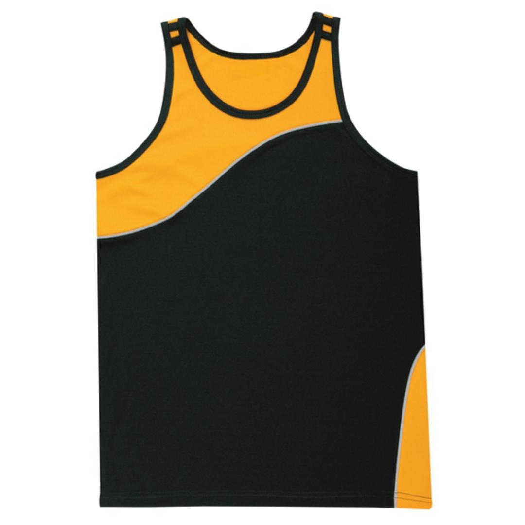 AQS01 Adult Sports Singlet image 0