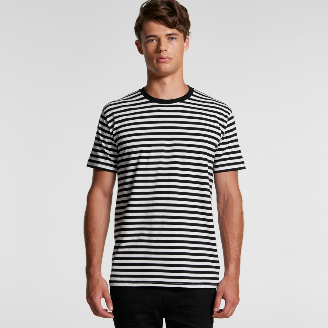 MENS STAPLE STRIPE TEE - 5028  image 0