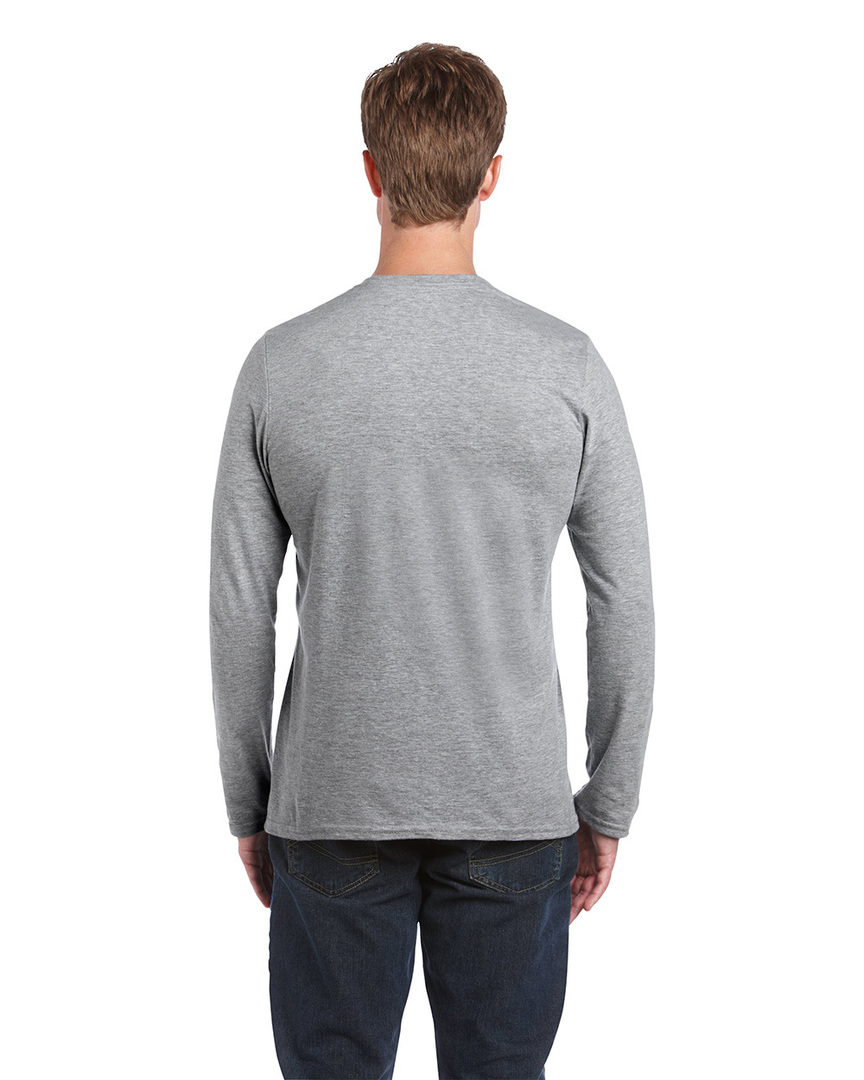 Softstyle® Euro Fit Adult Long Sleeve T-Shirt image 7