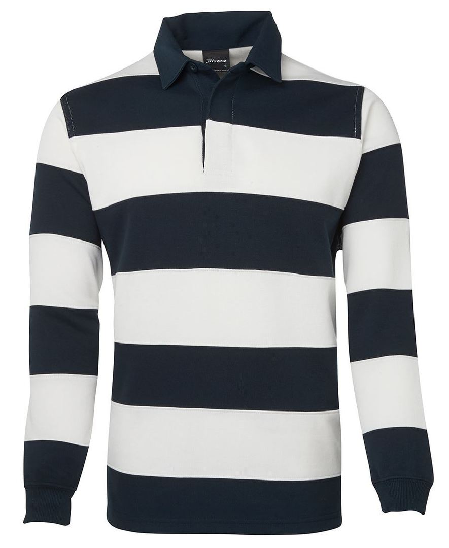 3SR Mens Striped Rugby Jersey image 1