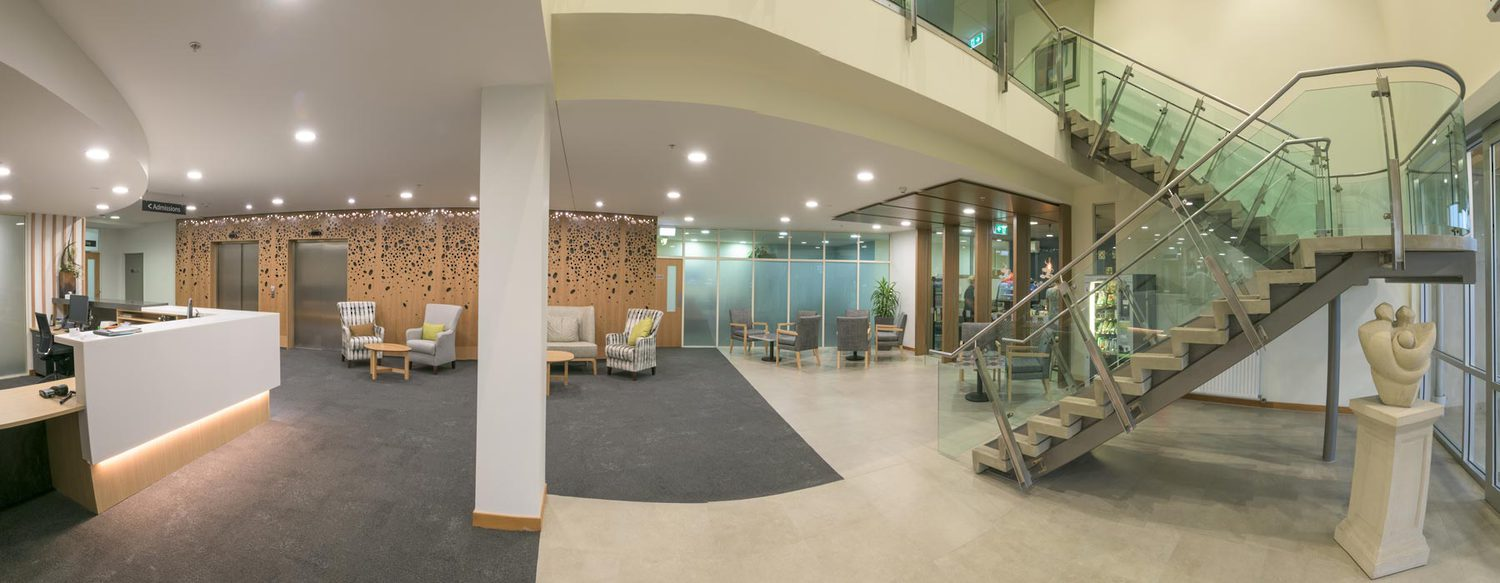grace hospital reception area