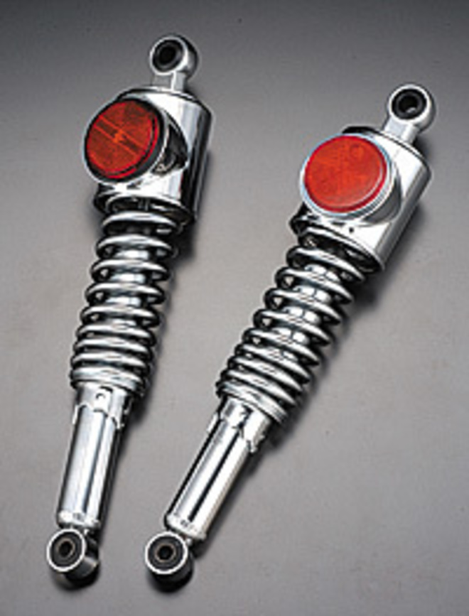 109-202 Rear Shock units - Standard with black red reflector image 0