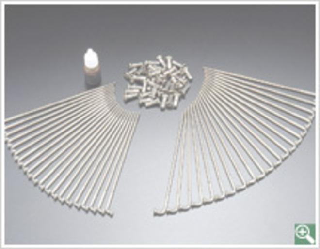 72-5112 CB750K Spoke Set Stainless Steel image 0