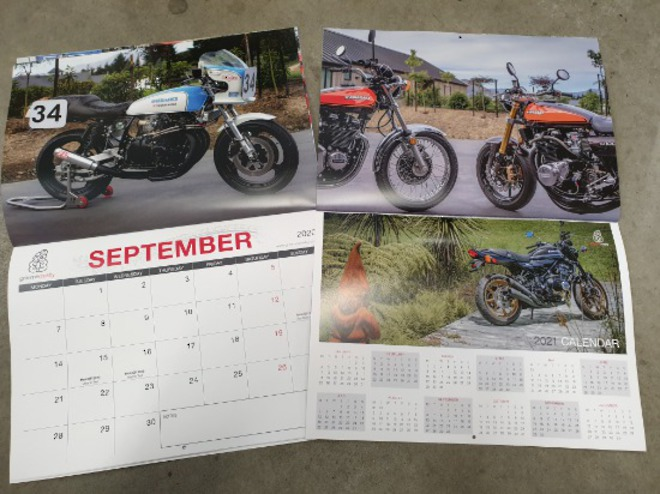 Now available 2020 Bikers Calendar image 0