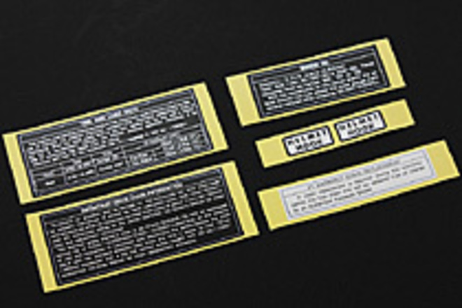 47-2009 Caution Labels image 0