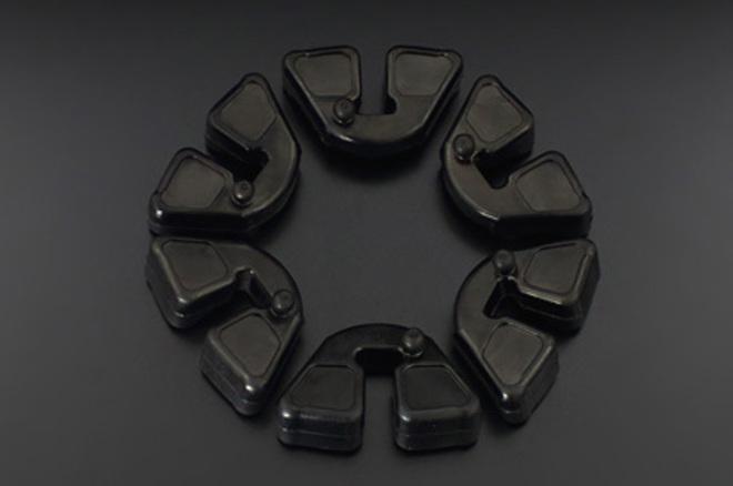 81-3180 Z1 Rear Hub Rubbers image 0