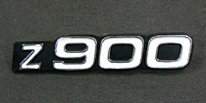81-1245 Z900 Side Cover Emblem image 0