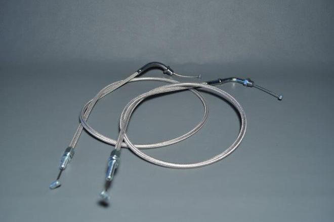 FGL-H7502A15M CB750 Throttle Cable 150mm image 0
