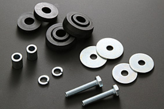 81-1256 Rear Guard Rubber Mount Kit image 0
