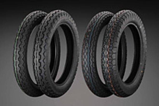 "12-122  Dunlop K87 400 x 18"" Rear  Tire image 0"