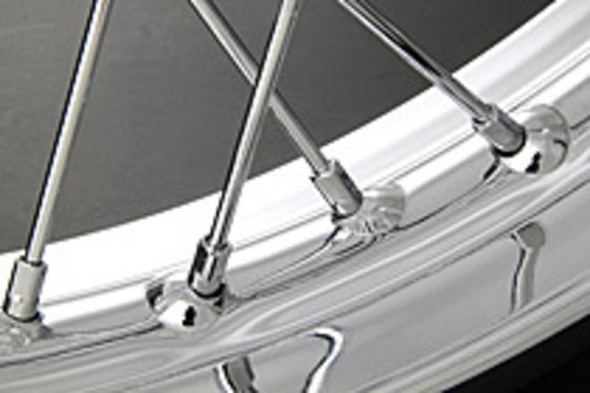 72-5139 Rear Spoke Set Chrome 77-78 Z750/Z1000 image 0