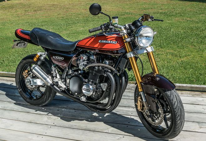 "1980 Kawasaki Z1000 ""Street fighter"" image 0"
