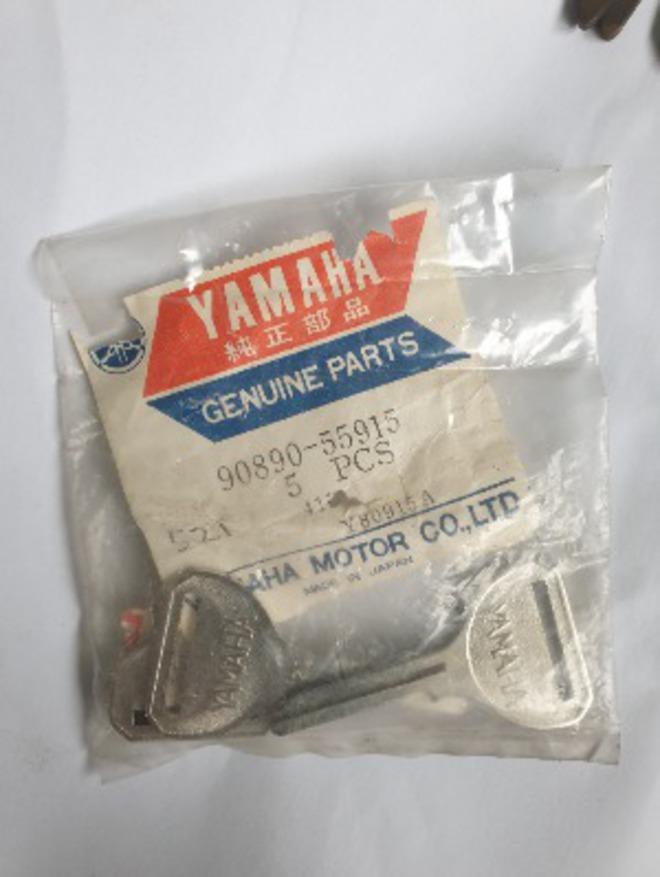 Classic Yamaha Keys - 196 blanks with Master cutting set  (one lot) image 0