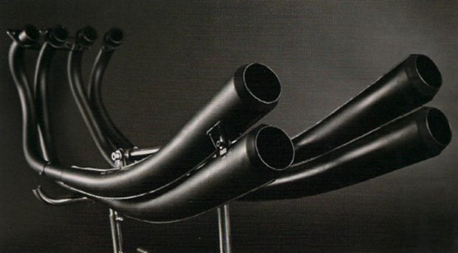 MRS-H75-M01B Replica CR750 racing style PIPES image 0