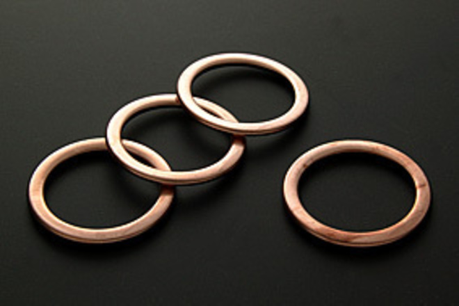 34-18067 Exhaust Copper Gaskets image 0