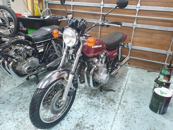 1977 Kawasaki Z1000 image 2