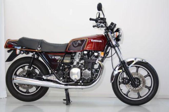 1979 Kawasaki KZ1000ST image 0