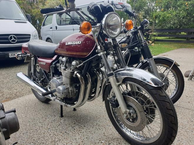 1977 Kawasaki Z1000 image 0