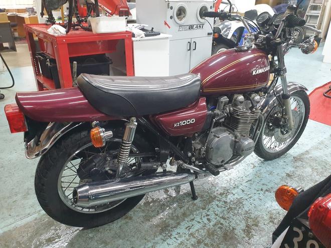 1977 Kawasaki Z1000 image 4