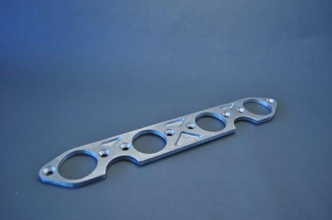 MRS-H75-E251 KO CB750 Carburettor Steel Plates image 0