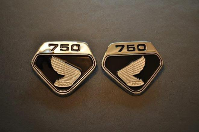 MRS-H47-2230 CB750 Side Cover Emblem image 0