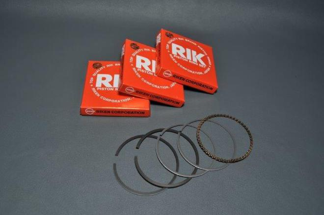 MRS-H75-E1351 CB750 Piston Ring Set 1mm image 0