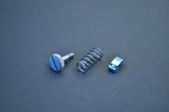 MRS-H75-F15 CB750 Throttle Grip Adj Bolt Set image 0