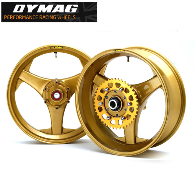 Classic Dymag TT3 Cast Magnesium wheels (Set Front and Rear) image 0