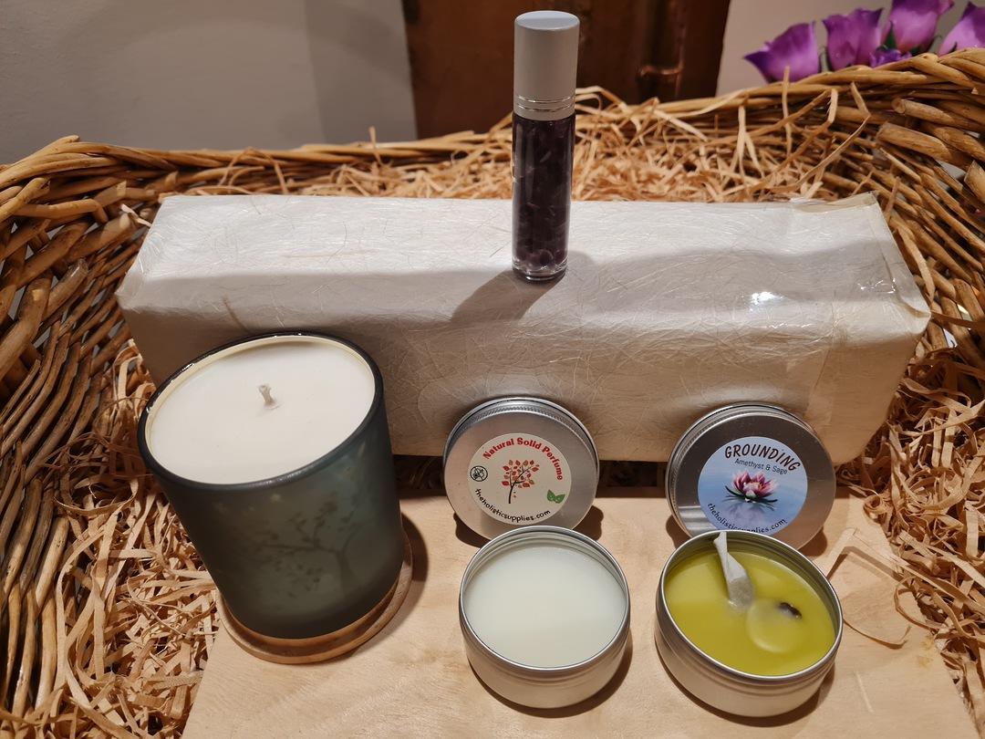 Spiritual Scents Gift Set (4 items) image 0