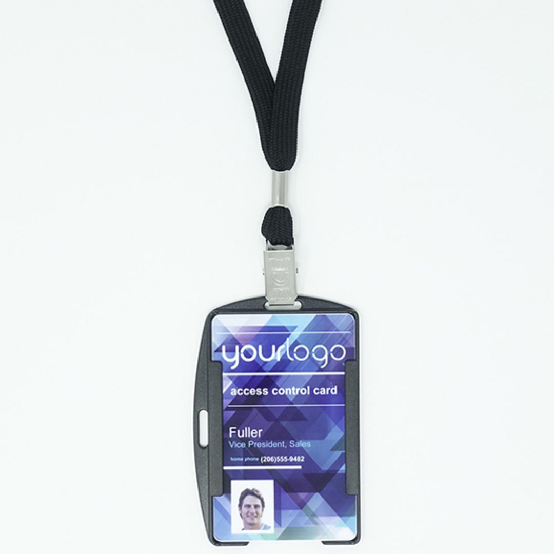 LX108 Single sided card holder image 2