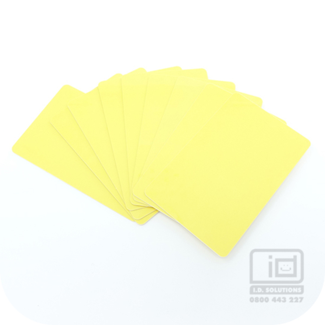 Blank Cards Yellow image 0