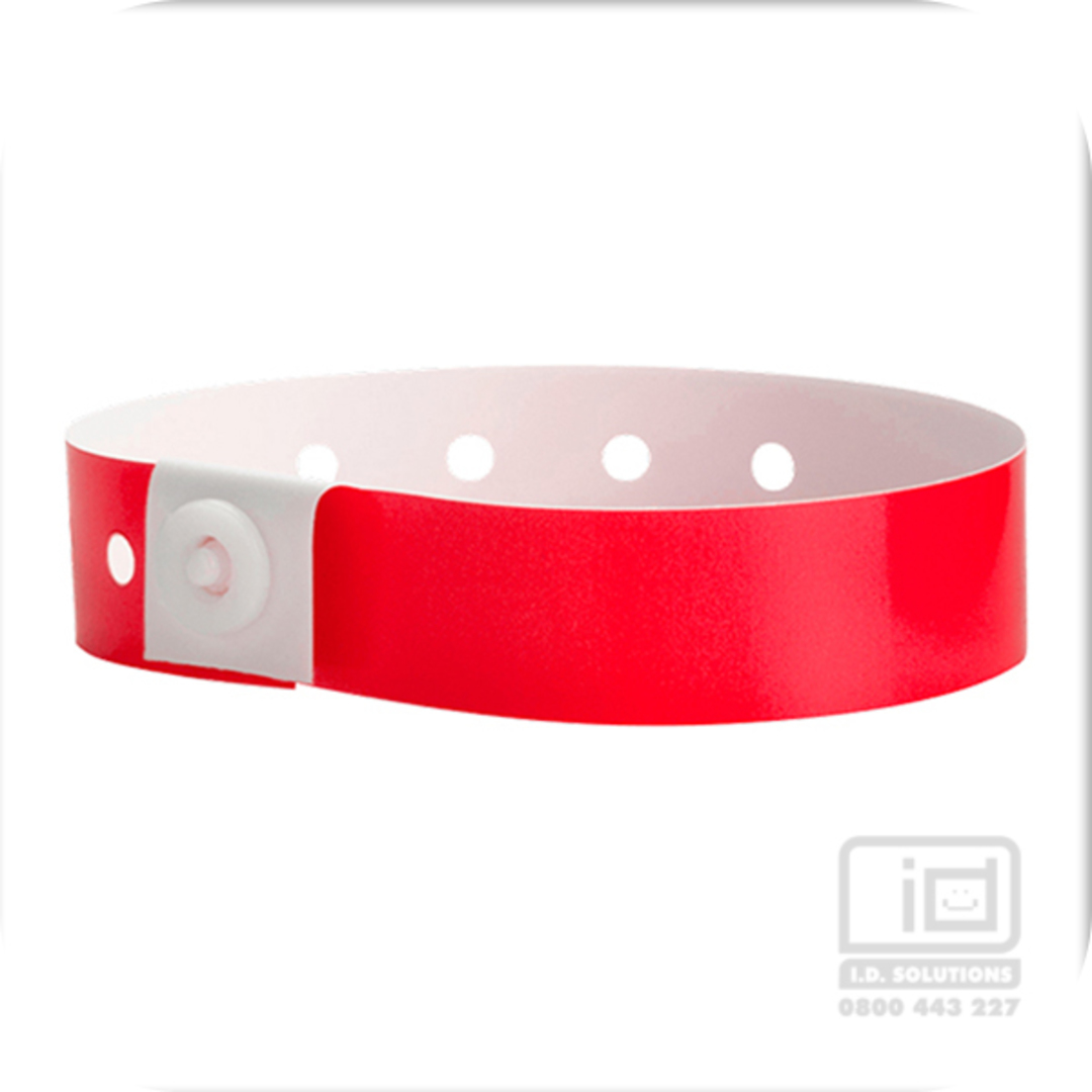 Soft Comfort Wristbands Red image 0