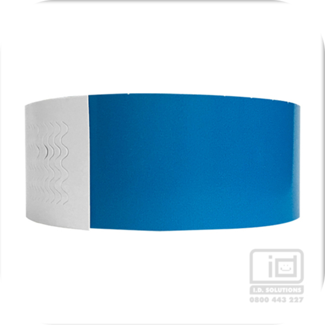 Biodegradeable Wristbands Blue image 0