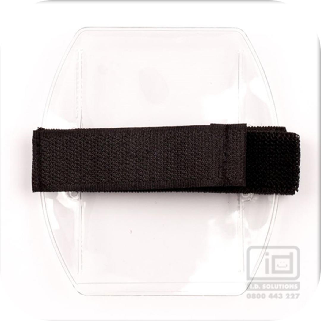 Armbands Black Vertical Velcro image 0