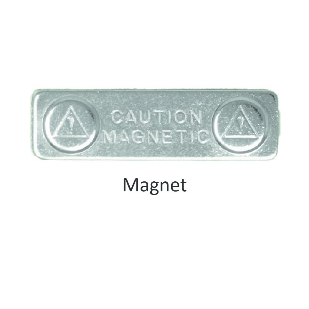 PVC Name Badge with Magnet image 1