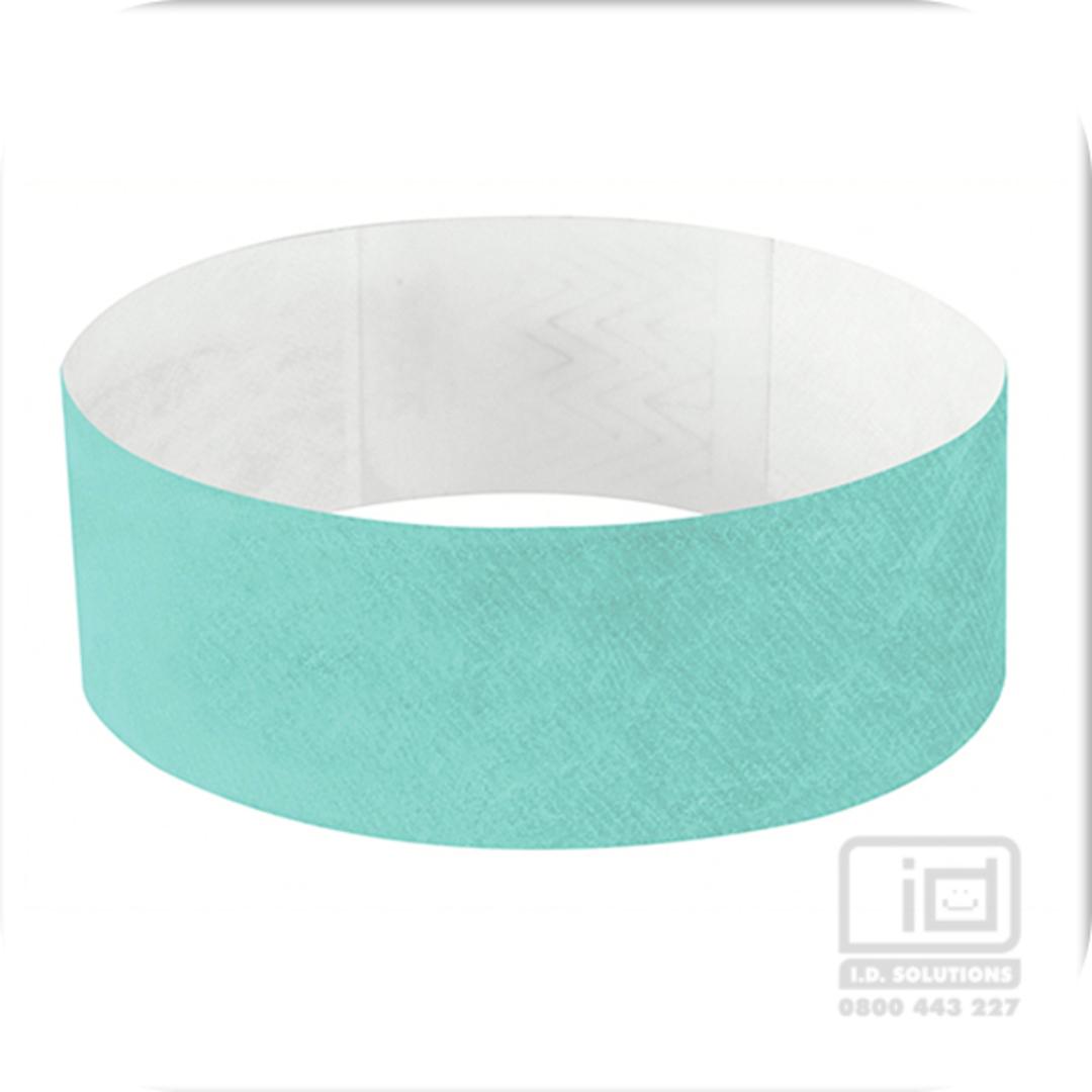 25mm Tyvek Wristband Aqua image 0