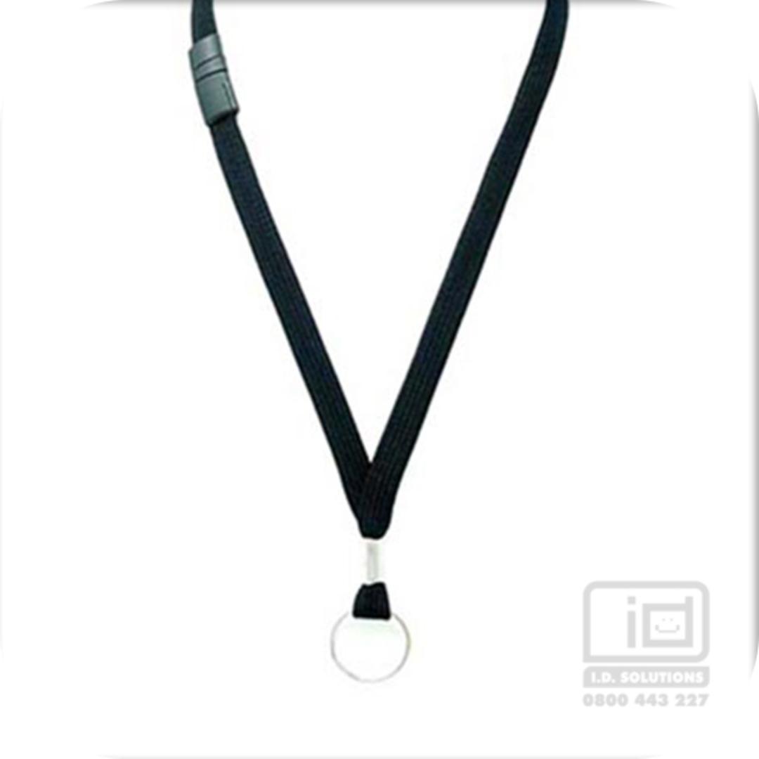 12 mm Black Breakaway  Key Ring Parliament image 0