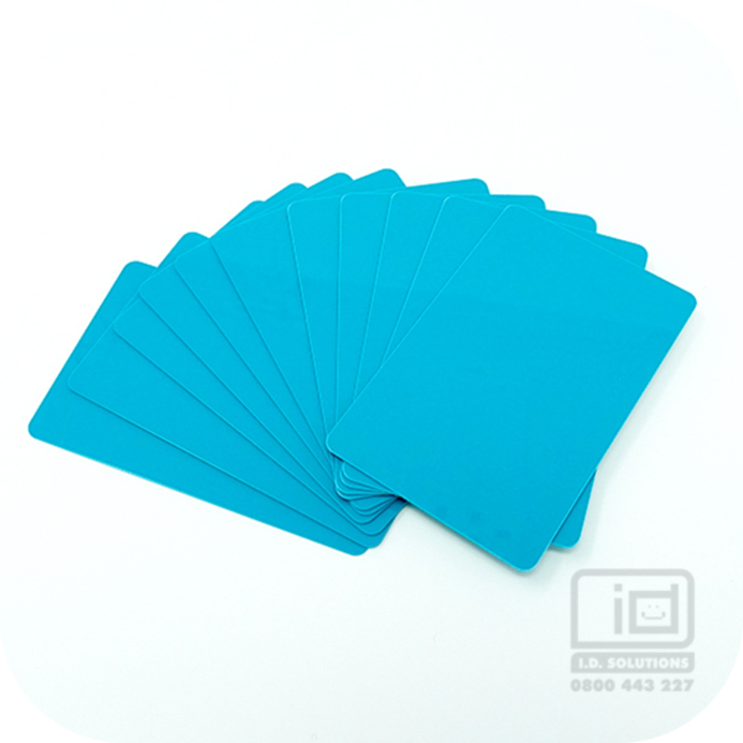 Blank cards Teal image 0