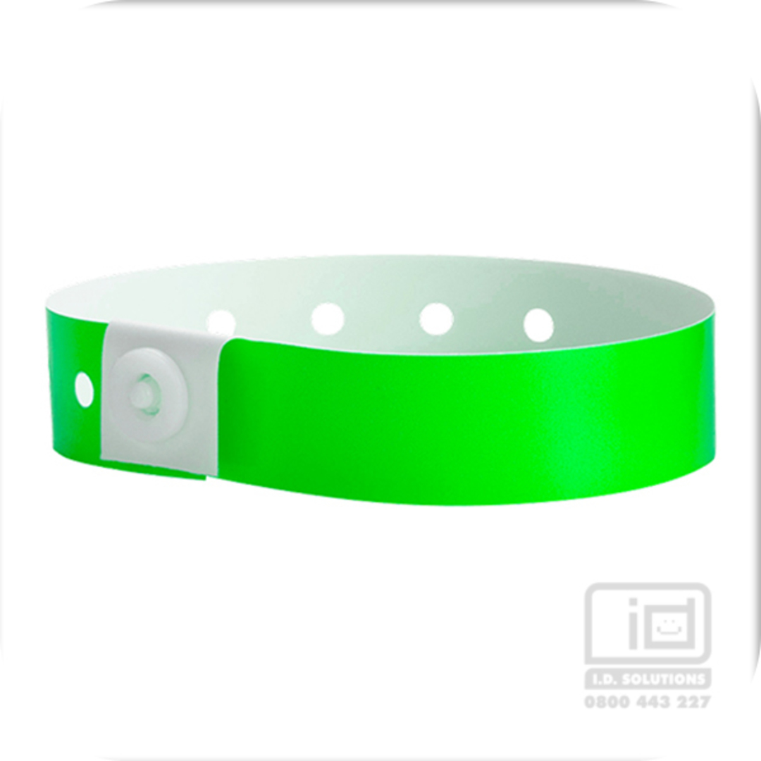 Soft comfort wristbands Neon Lime image 0