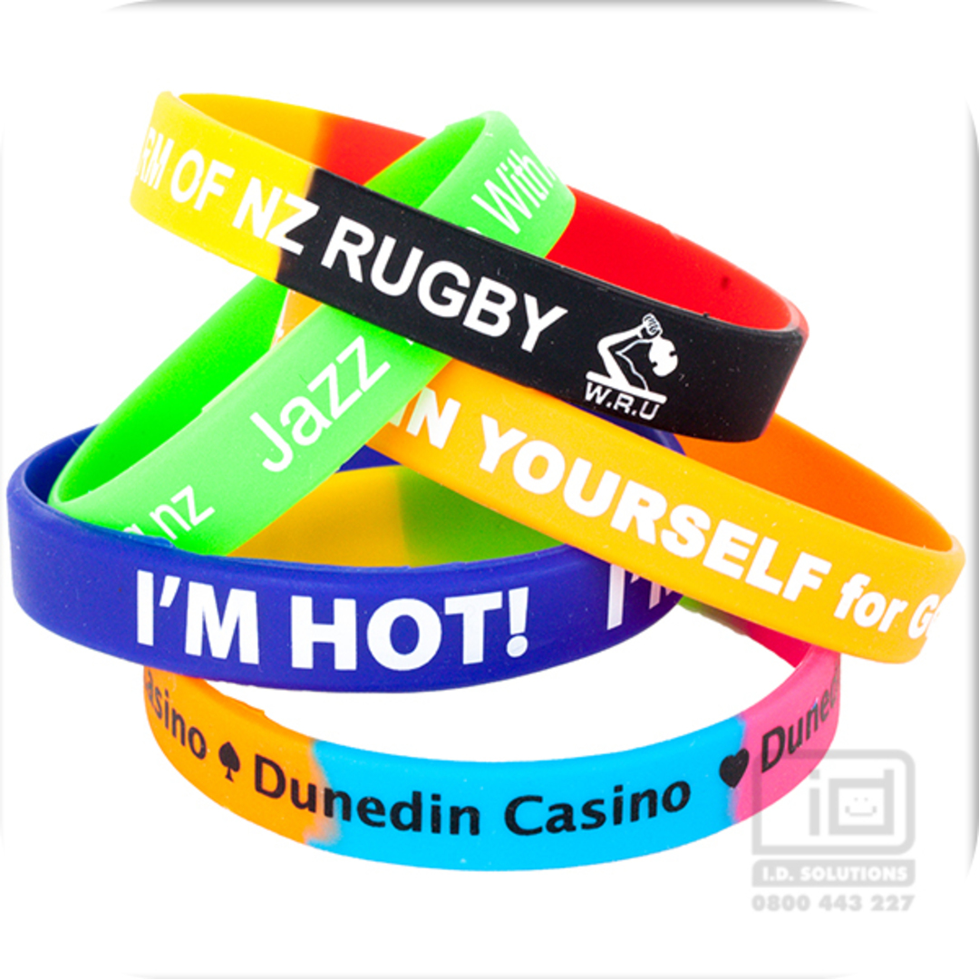 Printed Silicone Wristbands image 0