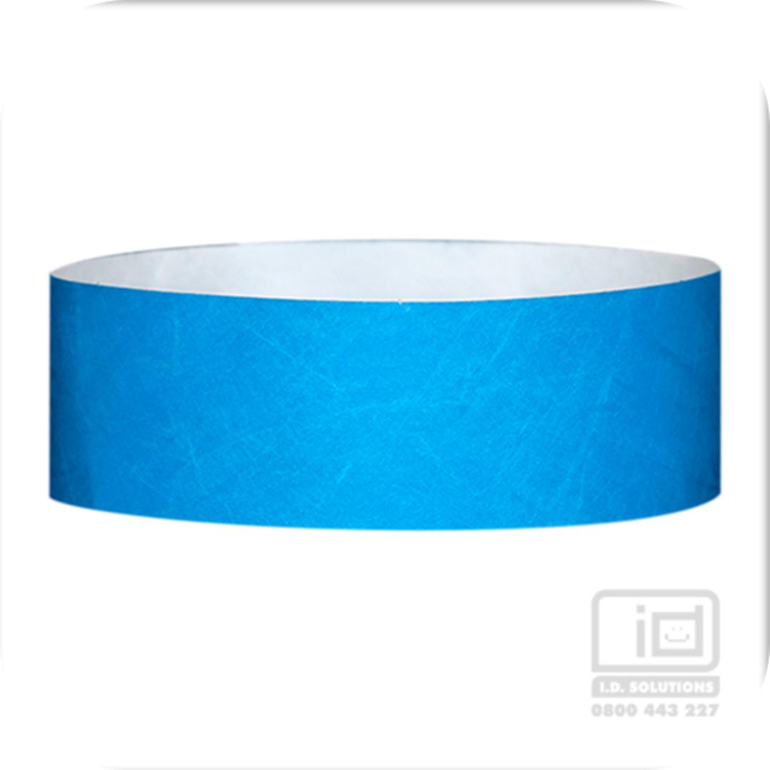 25mm Tyvek Wristband Light Blue image 0