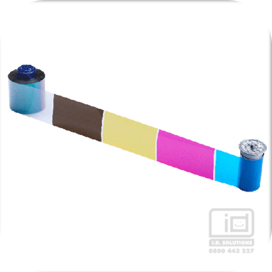 Colour Ribbon CMYKP for CR805 Retransfer Printer image 0