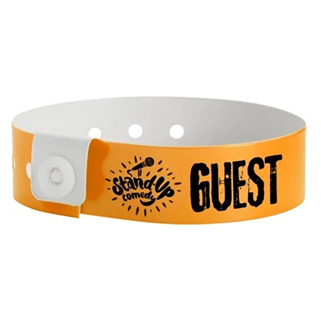 Custom Vinyl  L-Shape Snap wristbands image 1