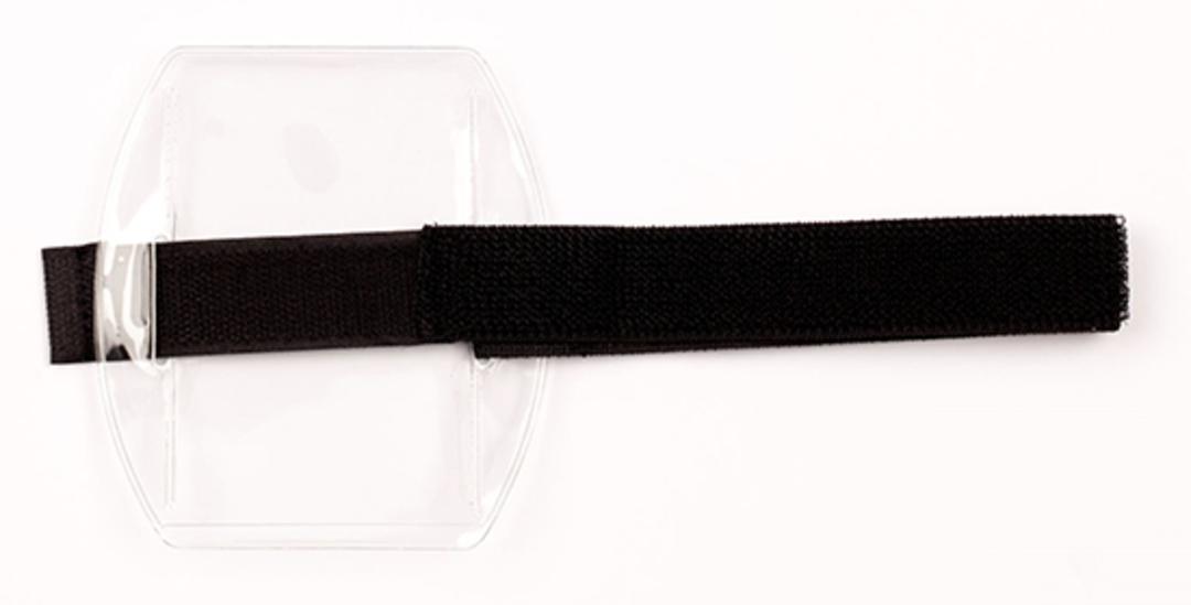 Armbands Black Vertical Velcro image 1