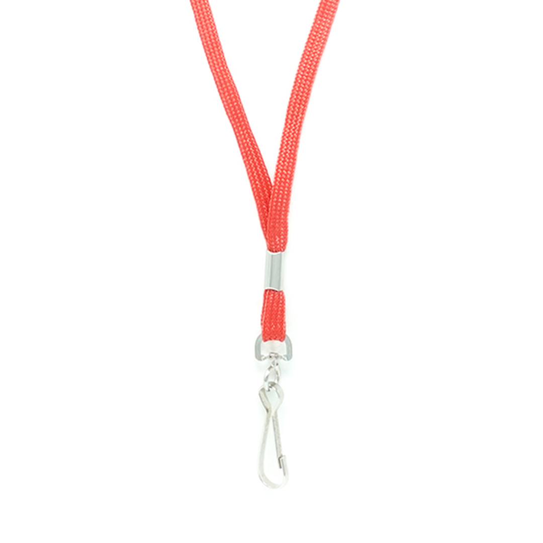 Red Lan with Swivel Hook - 8mm wide image 1
