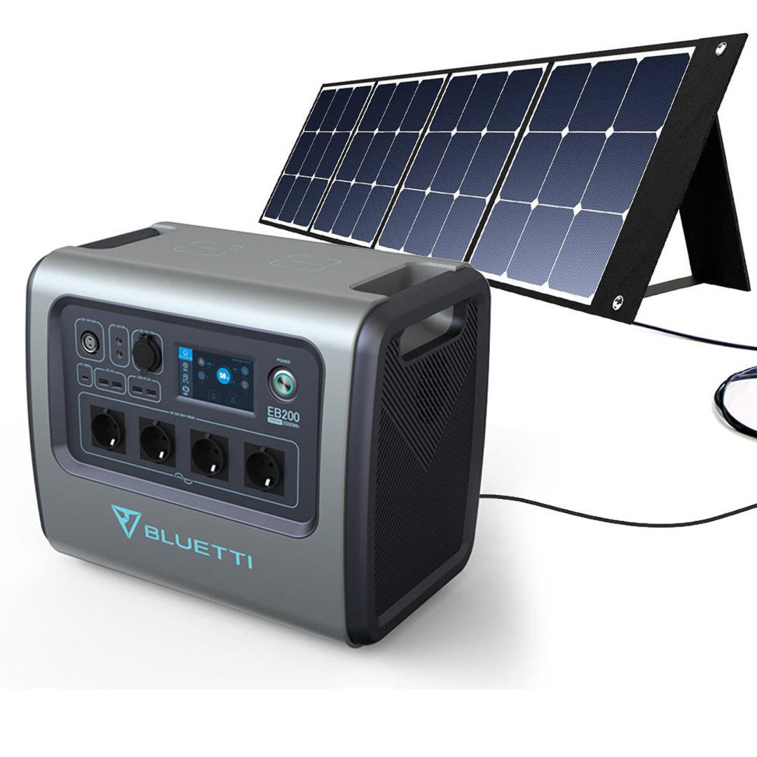 Bluetti AC200b Solar Generator 2000W Portable Power Station image 1
