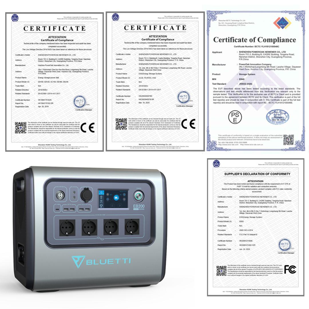 Bluetti AC200b Solar Generator 2000W Portable Power Station image 2