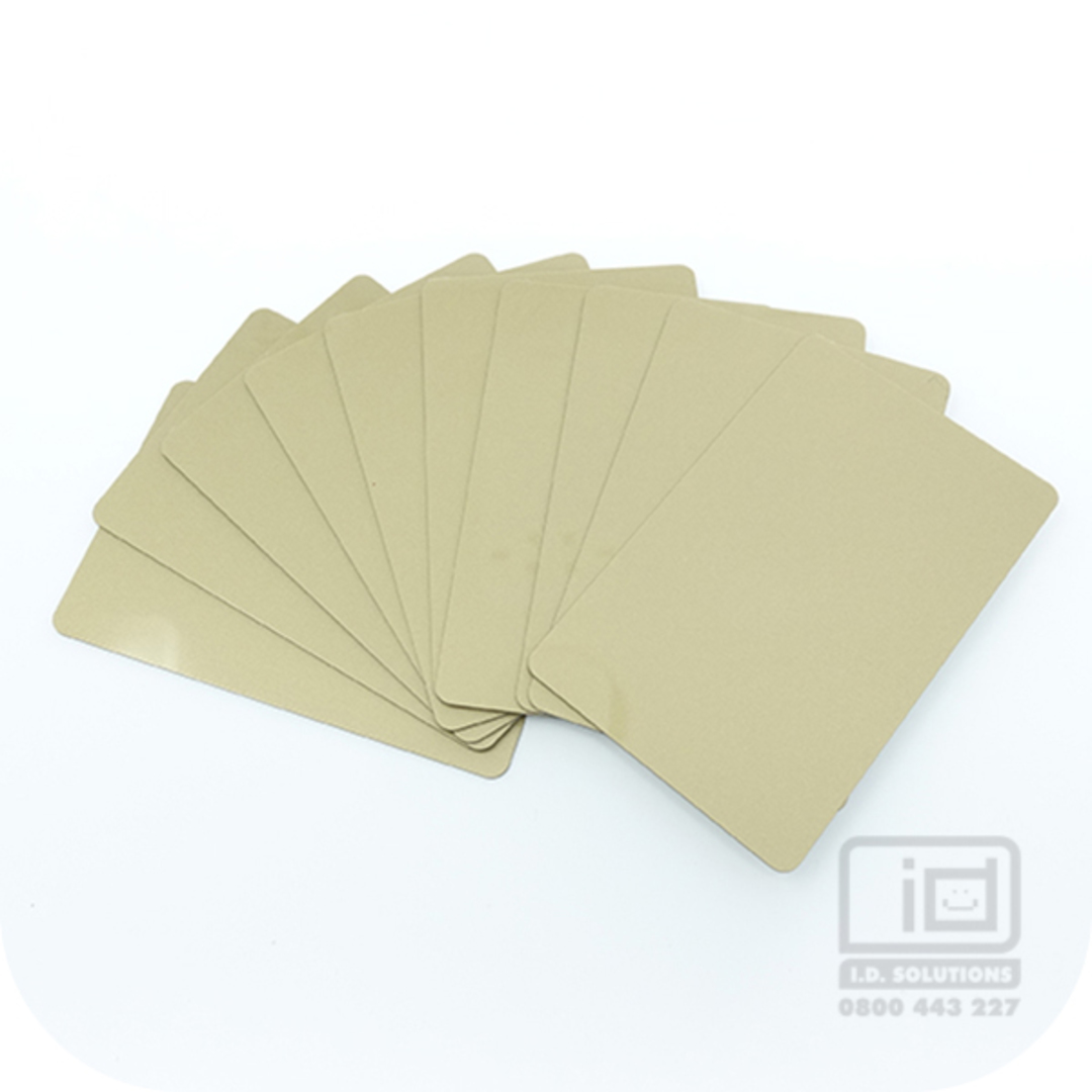 Blank Cards Gold image 0